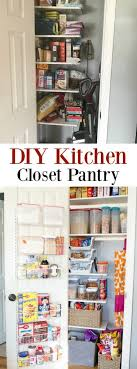 Kitchen Cabinet Pantry Unit Diy Kitchen Closet Pantry 100 Four Generations One Roof
