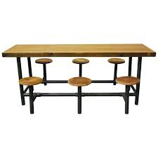 lunch tables for sale factory lunch room flip table at 1stdibs