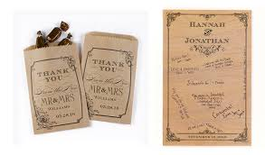 wedding treat bags vintage style wedding favor containers treat bags decorations