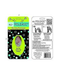 earring remover ez release earring remover rossan distributors