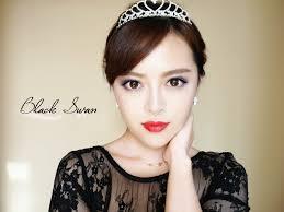 默小宝 复古黑天鹅妆容black swan makeup tutorial youtube
