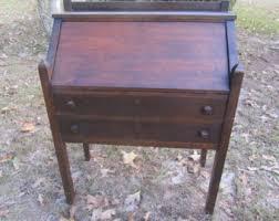 Antique Desk With Hutch Vintage Desks Etsy
