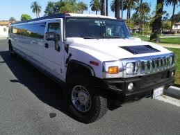 white hummer limousine suv stretch for sale 2006 hummer h2 in los angeles ca 10255