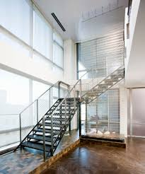 Industrial Stairs Design Handrail Designs That Make The Staircase Stand Out