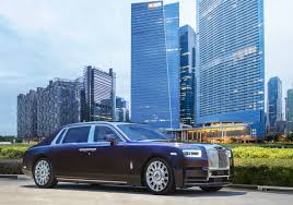 purple rolls royce latest rolls royce phantom makes its southeast asian premiere in
