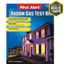 shop first alert home radon gas test kit at lowes com