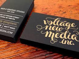 vnm black gold business cards by matt magi dribbble