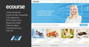 ecourse responsive website template by aveothemes themeforest