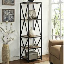 tall narrow oak bookcase metal bookcase ebay