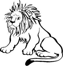 coloring pictures lion