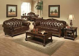 Brown Leather Sofa And Loveseat Attractive Leather Sofa Loveseat Types Of Leather Sofa And