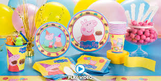 peppa pig party peppa pig party supplies peppa pig birthday party city