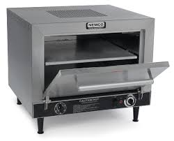 table top pizza oven nemco 6205 counter top electric pizza oven double 19 stone decks