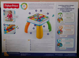 fisher price around the town learning table fisher price laugh and learn table buy or sell baby toys in