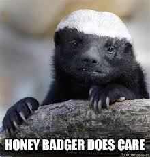 Meme Honey Badger - livememe com misunderstood honey badger