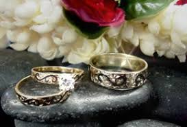 Hawaiian Wedding Rings by Hawaiian Diamond Wedding Sets