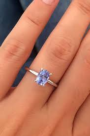 simple sapphire engagement rings 18 gemstone engagement rings for a unique oh so