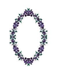 wallpaper bunga lingkaran grapes ivy wreath free image on pixabay