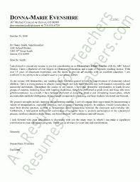 example teacher cover letter teacher cover letter example sample