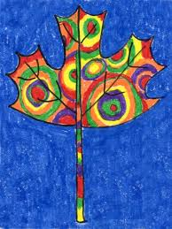kandinsky leaves art projects for kids