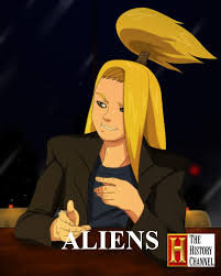 Aliens Picture Meme - deidara histori channel aliens meme by naruxo123 on deviantart