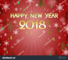And New Year Holidays In The Sun Happy New Year 2018 Snow Flake Stock Vector 708717070