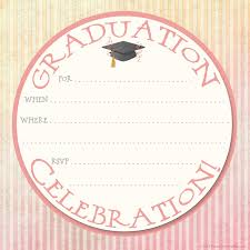 Retirement Invitation Card Matter In English Round Graduation Celebration Party Invitation Card With Blank Form