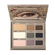 matte eye eyeshadow palette too faced