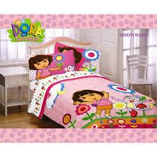 Dora Comforter Set Dora The Explorer Twin Sheet Set Ma062a Walmart Com