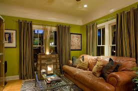 Green Walls What Color Curtains Brilliant Shades Of Green For Your Living Room