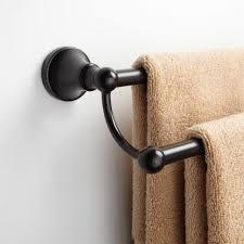 bathrooms design seattle double towel bar dark oil rubbed bronze