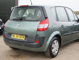 renault scenic 2002 automatic used 2004 renault scenic 1 6 petrol expression automatic 120bhp