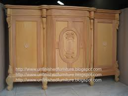 Unfinished Furniture Sideboard Unfinished Mahogany Furniture Unfinished Classic Furniture Louis