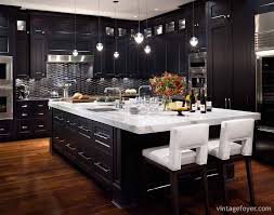 Matte Black Kitchen Cabinets 39 Inspirational Ideas For Creating A Black Kitchen Photos