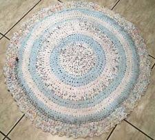 Round Woven Rugs Handcrafted Woven Rag U0026 Braided Rugs Ebay