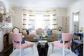 Pink Accent Chair Pink Accent Chairs Contemporary Living Room Samantha Pynn