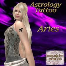 second life marketplace ad aries tattoo