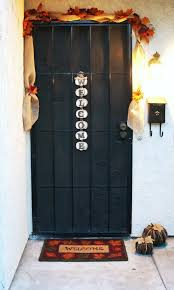 Front Door Decorations For Winter - backyards best halloween door decorations for doors homebc front