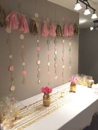 pink and gold birthday garland gold and pink gold blush bridal