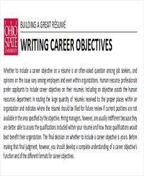 how to write a attention grabbing career objective do u0027s u0026 don u0027ts