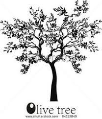 olive tree design tattoos olive tree