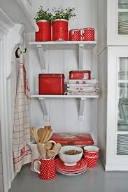 Red Kitchen White Cabinets 50 Best Red And White Kitchen Images On Pinterest Kitchen Red