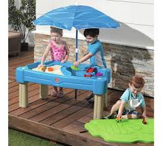 step 2 sand and water table buy step2 cascading cove sand and water table sandpits and play