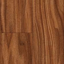 Distressed Laminate Flooring Home Depot Trafficmaster Kane Creek Walnut 12 Mm Thick X 4 15 16 In Wide X