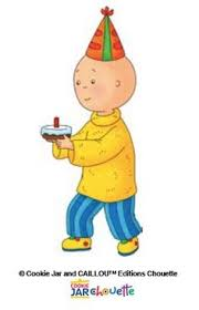 if i were caillou s i would go to the store for milk and