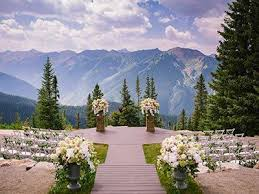 wedding venues in colorado springs breckenridge wedding at rubywood tying the knot details