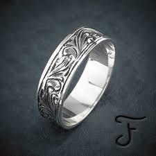 Western Wedding Rings by Western Jewelry Handmade Artisan Jewelry Fanning Jewelry