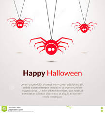 halloween background cute hapy halloween background with cute spiders stock vector image
