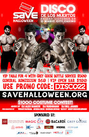 miami beach halloween party 2017 save u0027s 22nd halloween ball disco de los muertos tickets fri oct