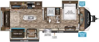 trailer floor plans reflection travel trailer floorplans grand design